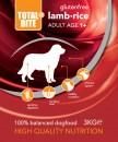 Total Bite Lamb & Rice gluteenivaba koeratoit 3kg