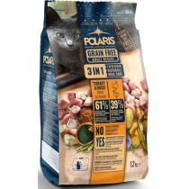 Polaris cat adult 3 in 1,duck,turkey (indoor,hairball,oral care 1,2kg