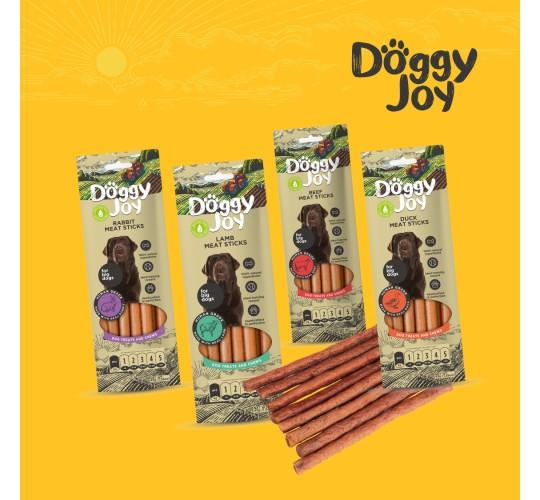 Doggy Joy koeramaiuste assortii 4x45g(jänes,part,veis,lammas)
