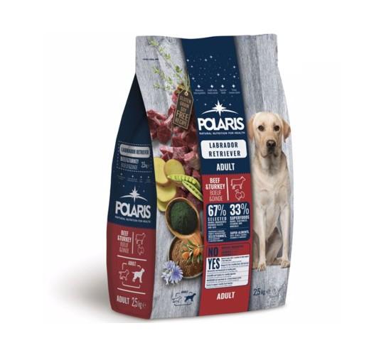 Polaris grainfree adult beef&turkey labrador retriiver 2,5 kg