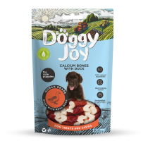 Doggy Joy кальциевая косточка с утиным филе 90g