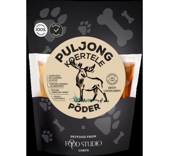 Foodstudio mahe põdrapuljong koertele 350ml