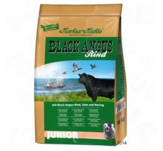 Markus Mühle külmpressitud kuivtoit black angus junior veisega 15kg