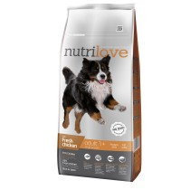 Nutrilove koeratoit adult L fresh chicken 12 kg