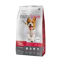 Nutrilove koeratoit adult small fresh chicken 1,6 kg