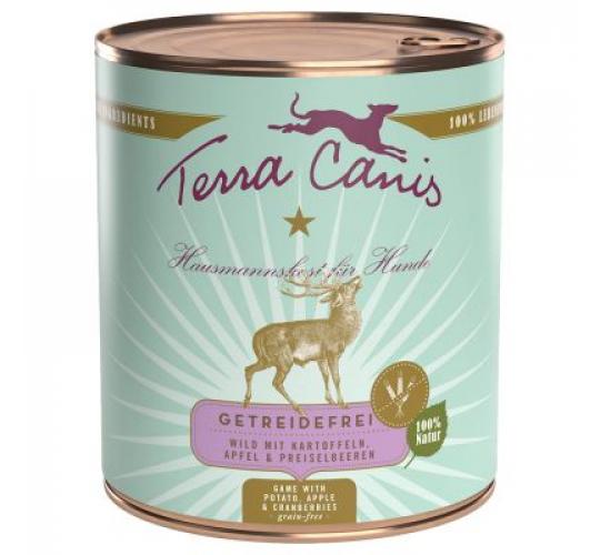 Terra Canis hirvega konserv koerale 400g
