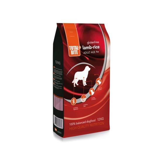 Total Bite Lamb & Rice koeratoit,gluteenivaba 12kg