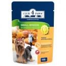 Club 4 paws konserveeritud toit väikest ja keskmist kasvu koertele 24x100g