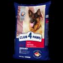 «КЛУБ 4 ЛАПЫ» сухой корм для активных собак 14 кг